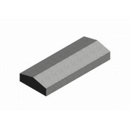 1КБНЛ-МЦС-21  Камень бетонный накрывочный лицевой п. 35
