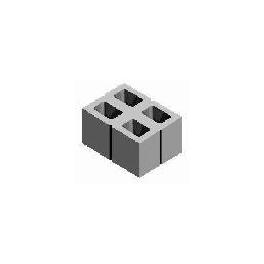 БСС 380х280х190  Модуль бетонный полированный (4ст.) п. 34